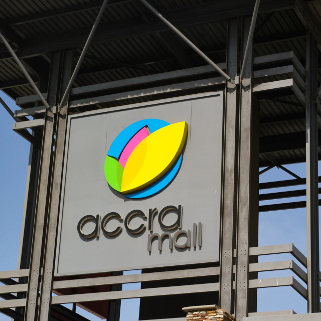 """Accra Mall"" stock image"