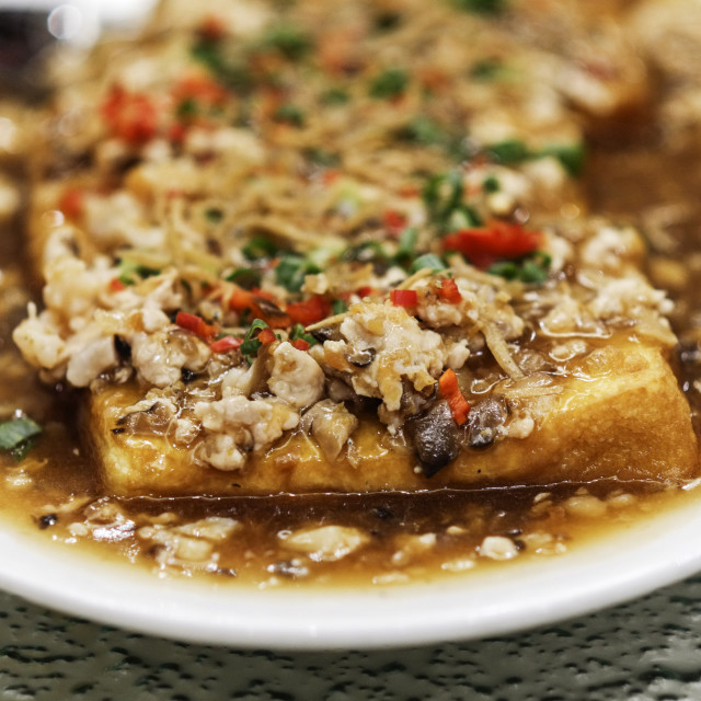 """""""Fried Bean Curd"""" stock image"""