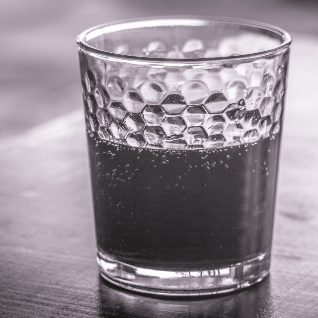 """Monochrome Glass"" stock image"