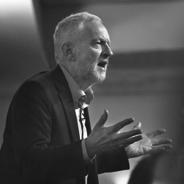"""""""Jeremy Corbyn"""" stock image"""