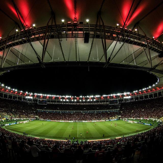 """Maracana Stadium"" stock image"