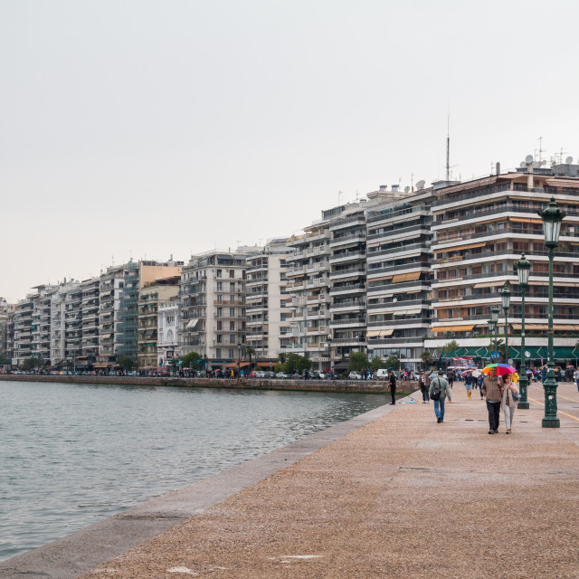 """Thessaloniki Harbor"" stock image"