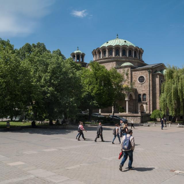 """""""Sveta Nedelja Church"""" stock image"""