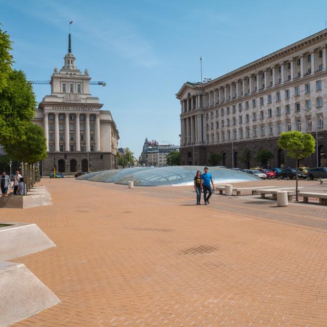 """""""Sofia City Center"""" stock image"""
