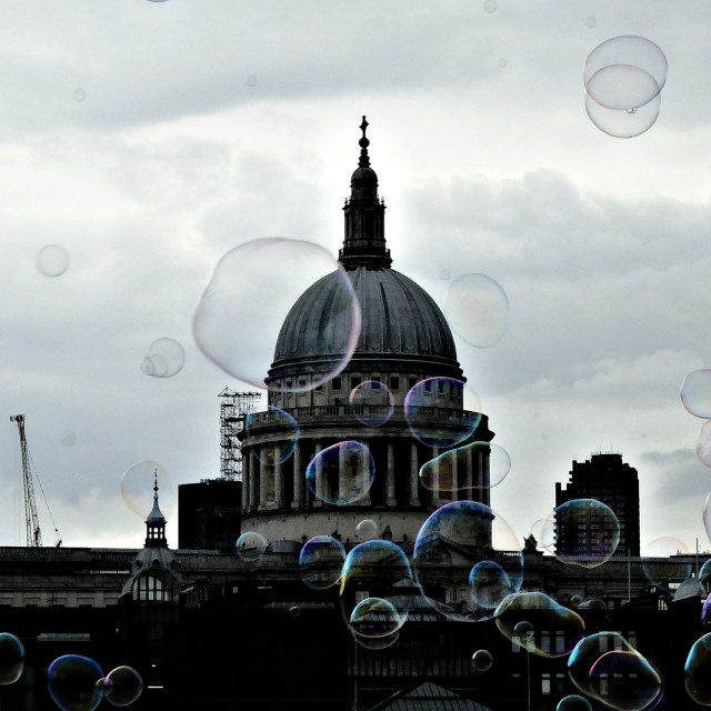 """Saint Paul's Cathedral"" stock image"