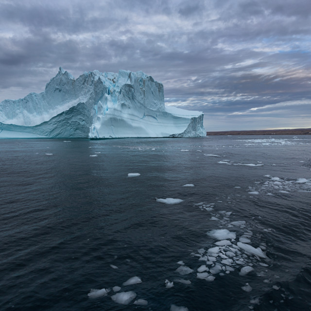 """floating Iceberg"" stock image"
