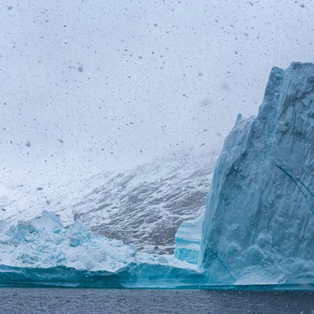"""""""snowy iceberg"""" stock image"""