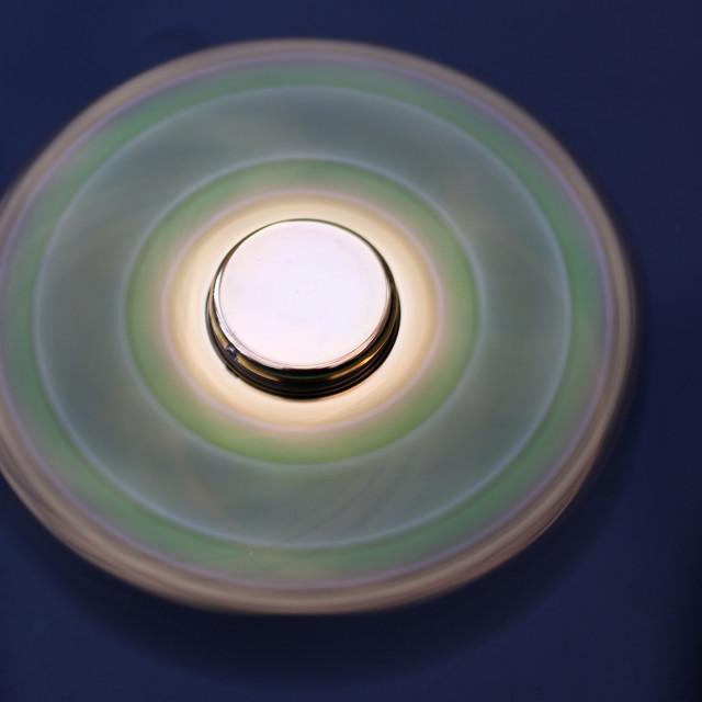 """""""Fidget Spinner"""" stock image"""