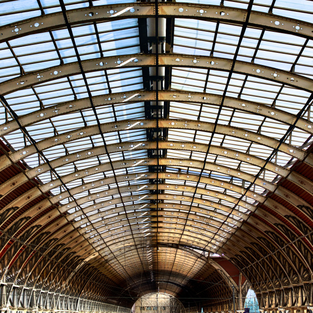 """Paddington Station"" stock image"