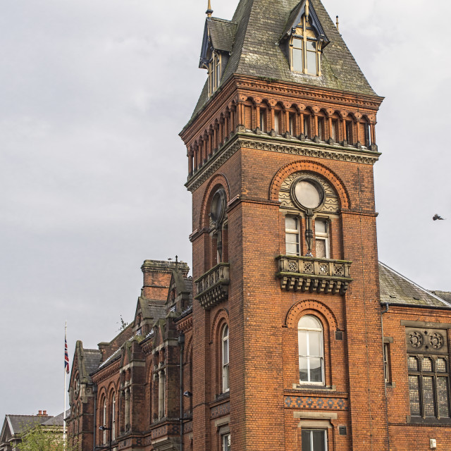 """""""West Bromwich Town Hall"""" stock image"""