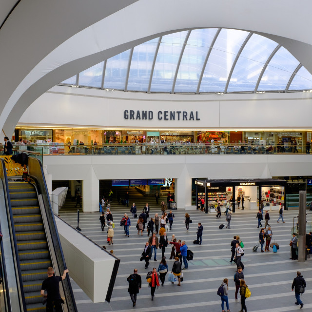 """New Street Station, Birmingham (Grand Central)"" stock image"
