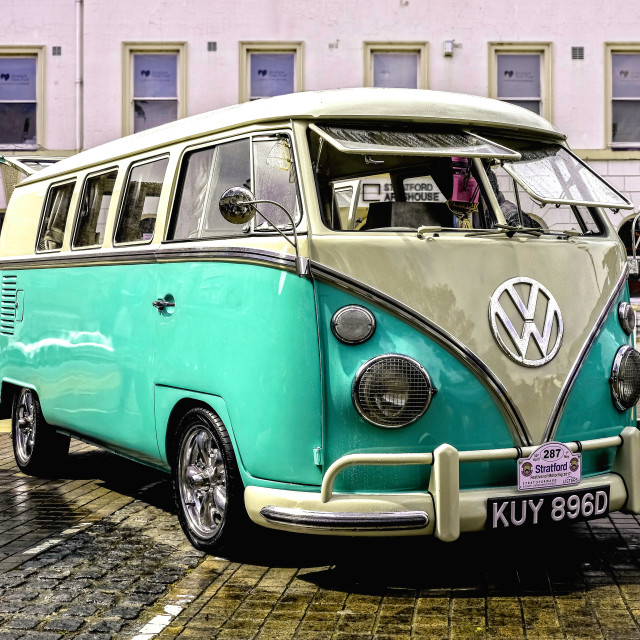 """Split Screen VW Camper"" stock image"