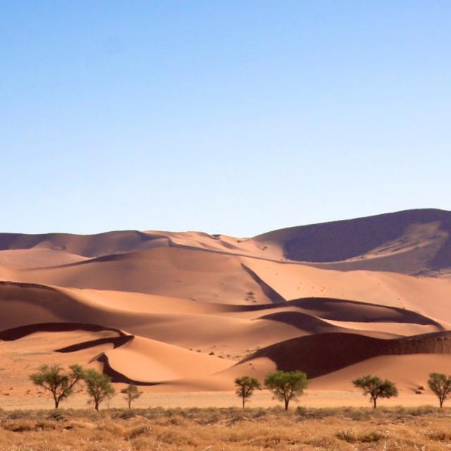 """Landscape of Sand Dunes"" stock image"