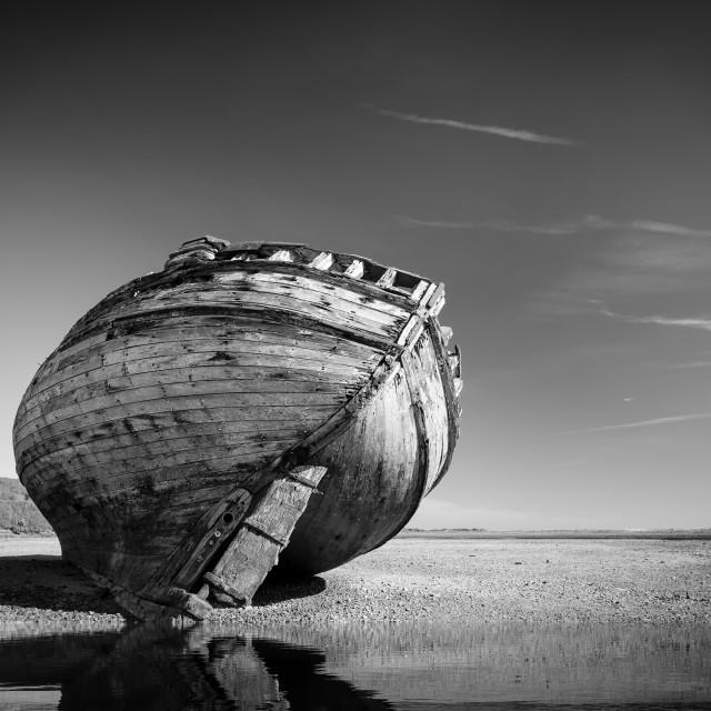 """Dulas Bay Boat"" stock image"