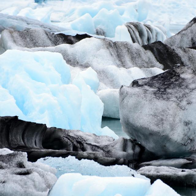 """Jokulsarlon Iceland"" stock image"