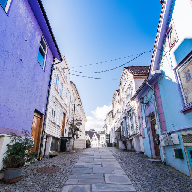 """""""COLOURS OF STAVENGER"""" stock image"""