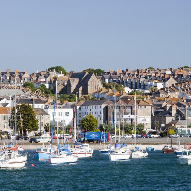 """Penzance, Cornwall, UK."" stock image"
