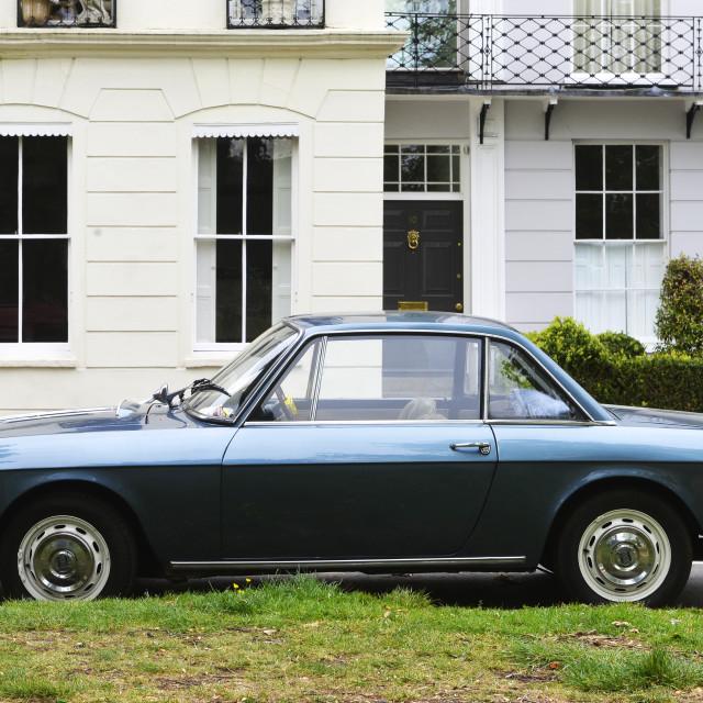 """""""Lancia Fulvia classic car"""" stock image"""