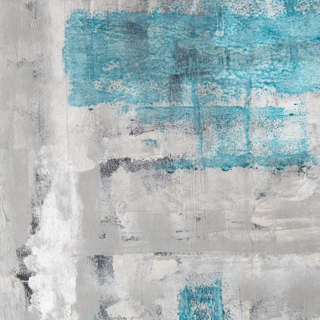 """Abstract background with blue and grey colors"" stock image"