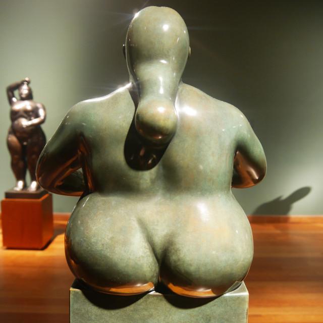 """""""Chubby figure"""" stock image"""