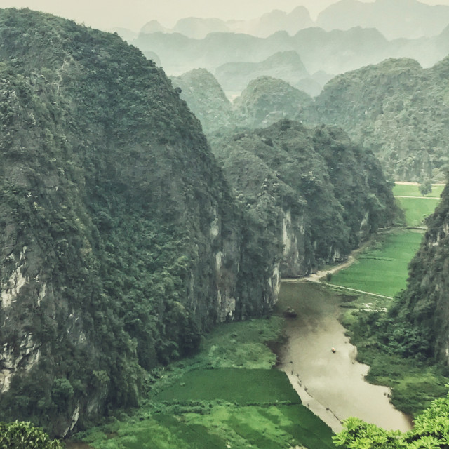 """Vietnam - Ninh Binh views"" stock image"