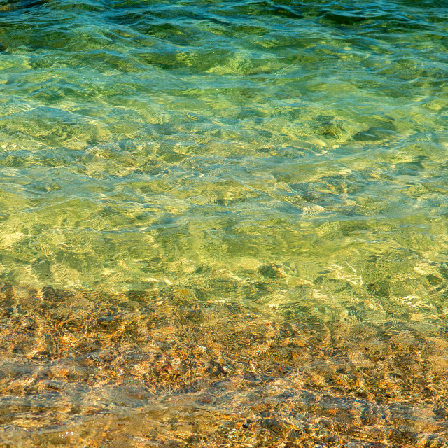 """Clear Waters, Mallorca"" stock image"
