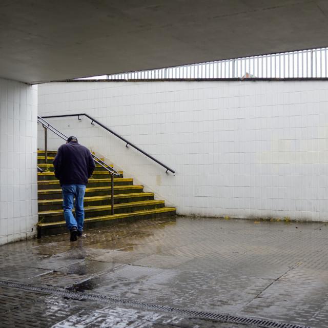 """Mansfield subway"" stock image"