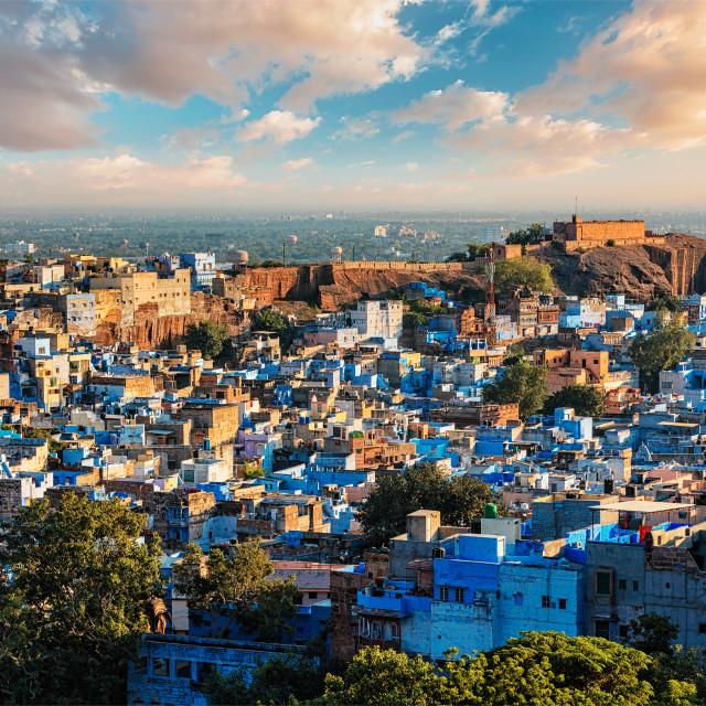 """Jodhpur Blue City, India"" stock image"