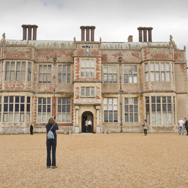 """Felbrigg Hall in norfolk, UK."" stock image"