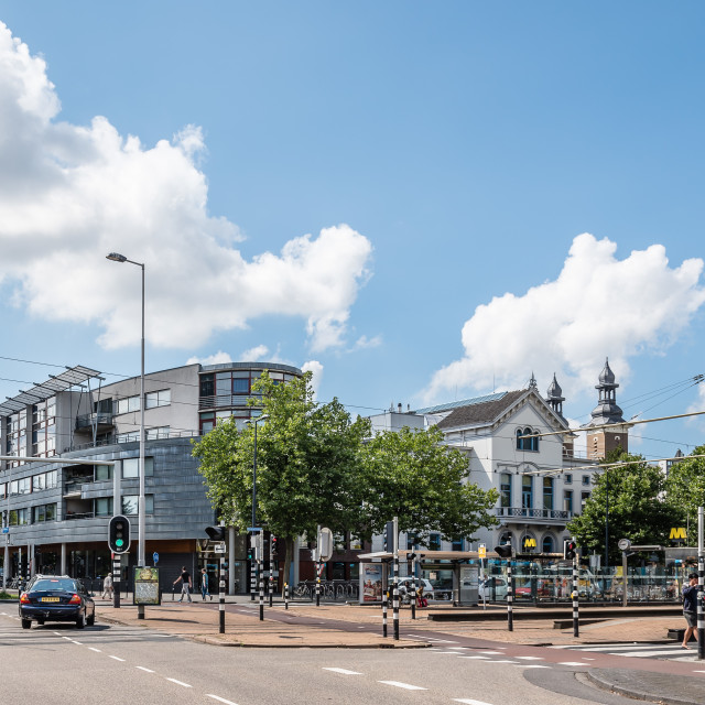 """Rotterdam cityscape a sunny day of summer"" stock image"