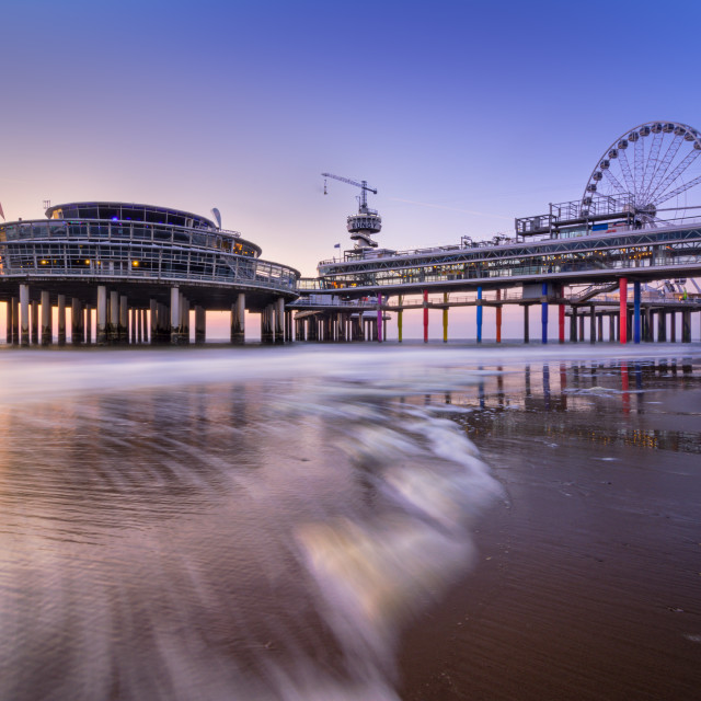 """The Pier"" stock image"