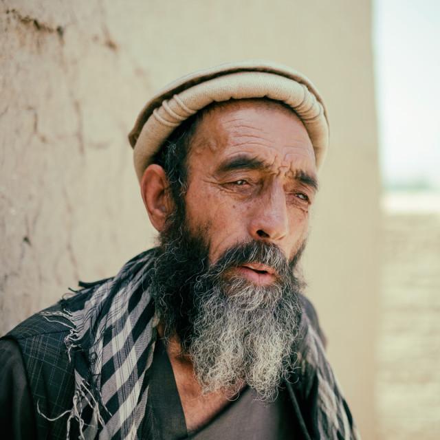 """""""Aged Kabuli"""" stock image"""
