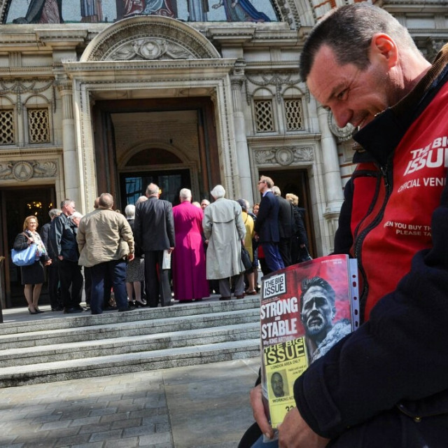 """""""The big issue"""" stock image"""
