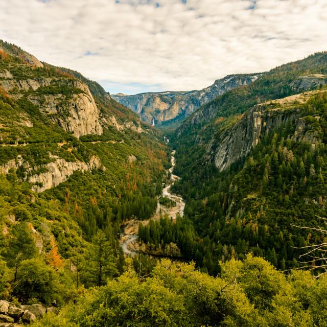 """Yosemite Valley In Autumn"" stock image"