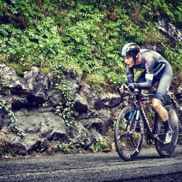 """Tour of Britain 2016"" stock image"