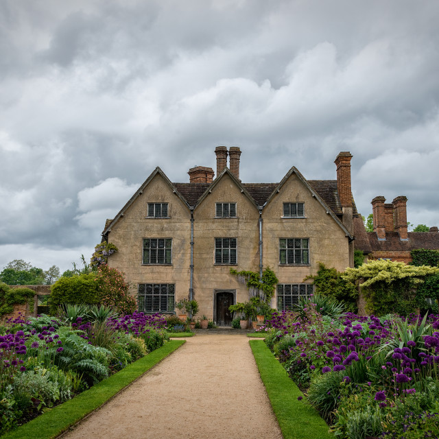 """Packwood House and Gardens"" stock image"