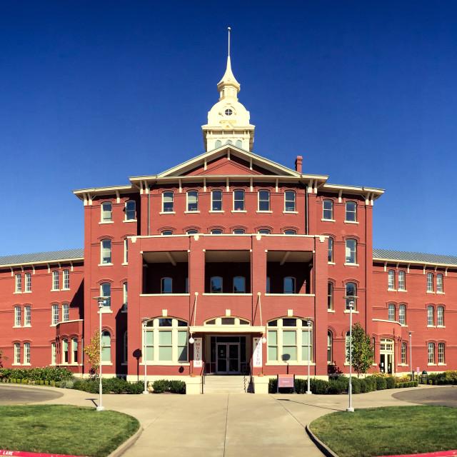 """Oregon State Mental Hospital"" stock image"