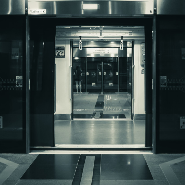 """Metro Doorways"" stock image"