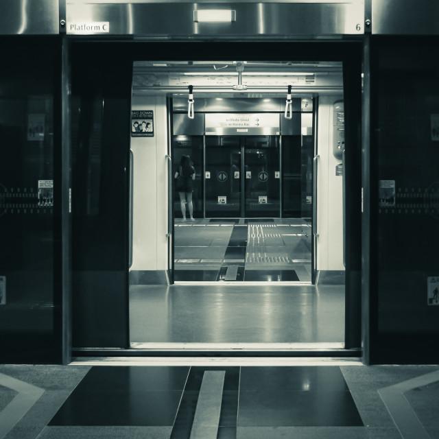 """""""Metro Doorways"""" stock image"""