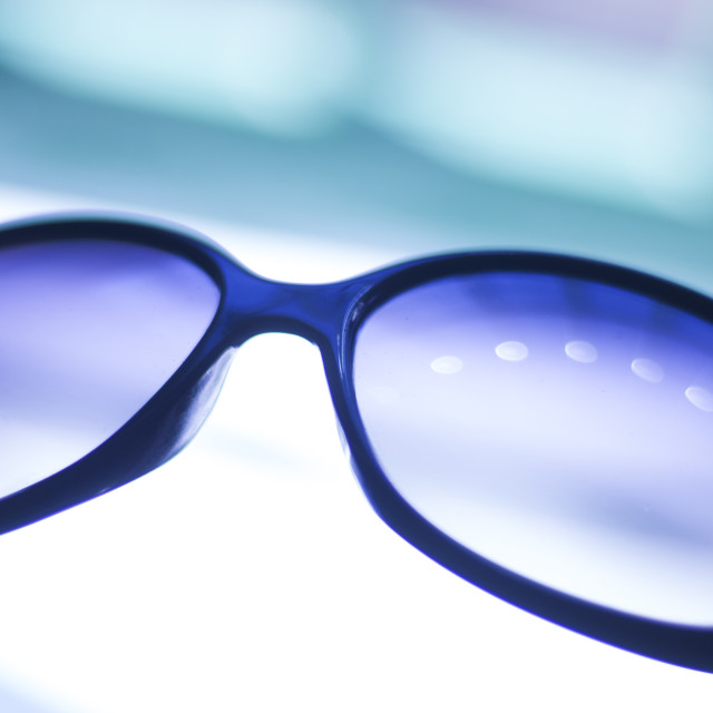 """Ladies fashion sunglasses"" stock image"