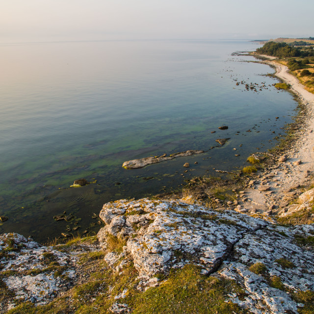 """Gotland Island Coastal Beach in Sweden"" stock image"