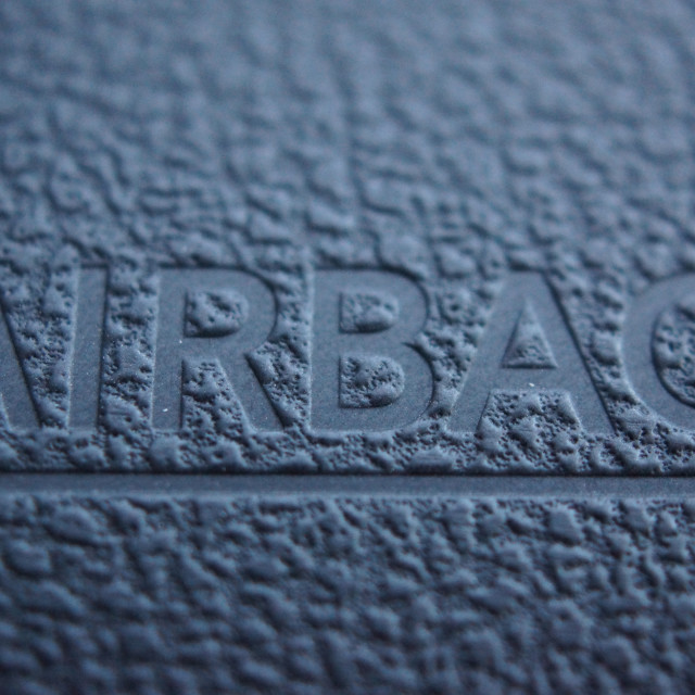 """Airbag - Car Safety"" stock image"