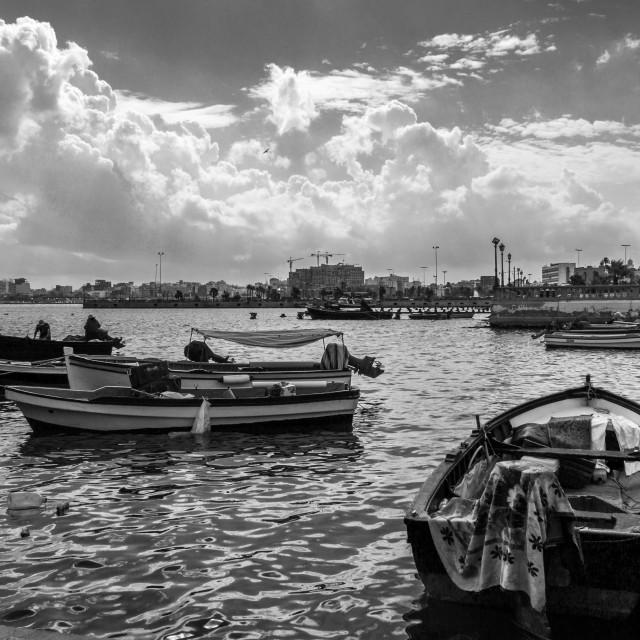 """Tripoli Marina"" stock image"