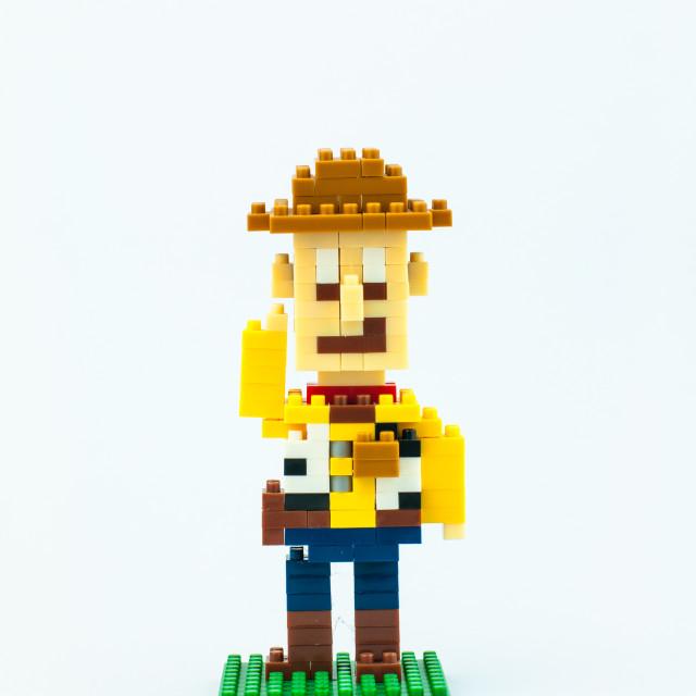 """WOODY Micro Blocks"" stock image"