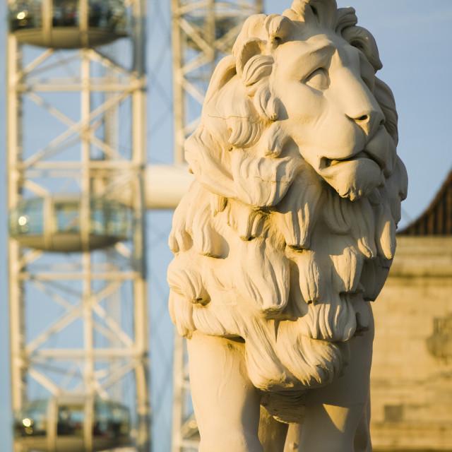 """The London Eye London UK"" stock image"