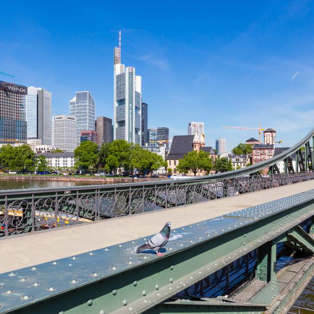 """Frankfurt 59"" stock image"