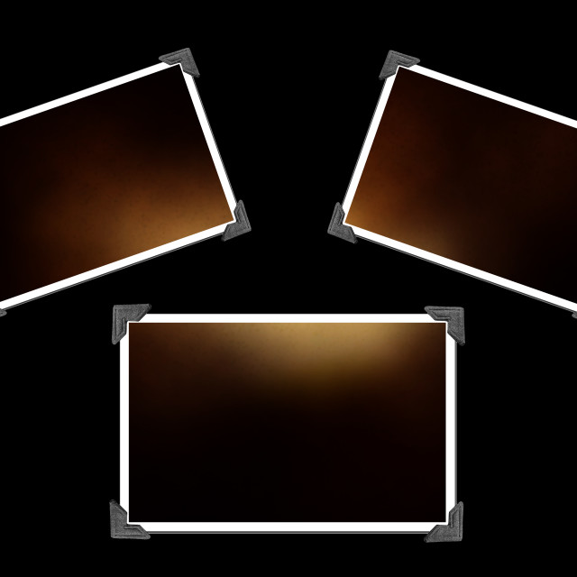 """""""Blank Picture with photo corners"""" stock image"""