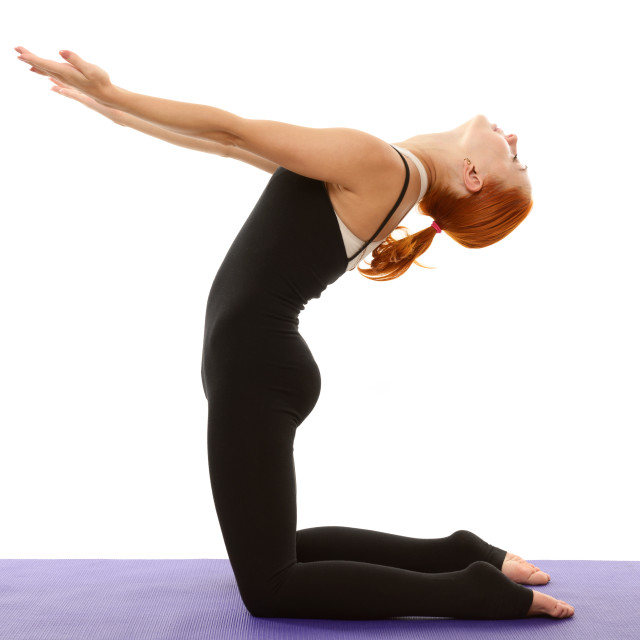 """Yoga asana"" stock image"