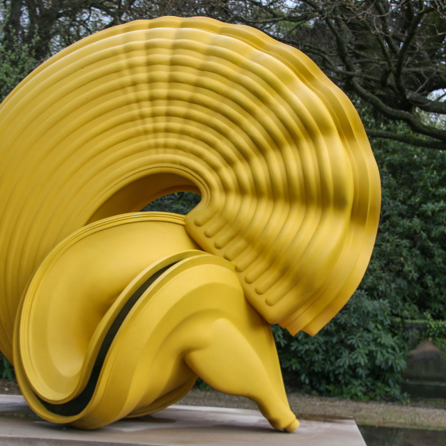 """Yorkshire Sculpture Park, Tony Cragg"" stock image"