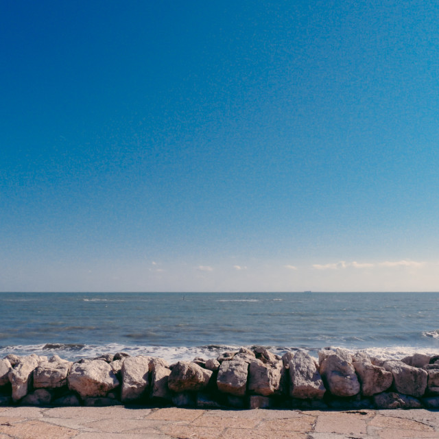 """""""The view to the Adriatic"""" stock image"""